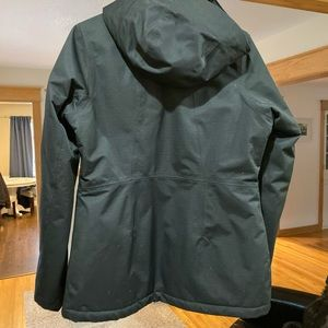 Women's north face jacket with hyvent technology